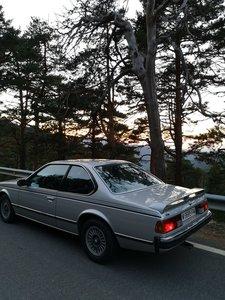 BMW 628csi low milleage
