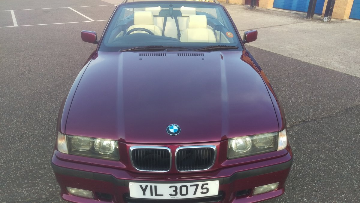 2000 E36 328 iA Convertible - BMW Individual - 56k For Sale (picture 2 of 6)