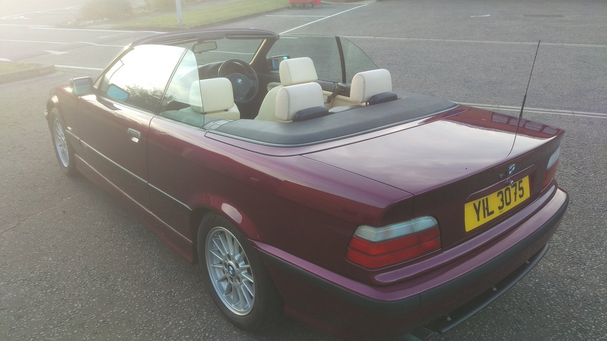 2000 E36 328 iA Convertible - BMW Individual - 56k For Sale (picture 3 of 6)