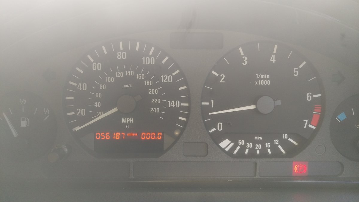 2000 E36 328 iA Convertible - BMW Individual - 56k For Sale (picture 5 of 6)