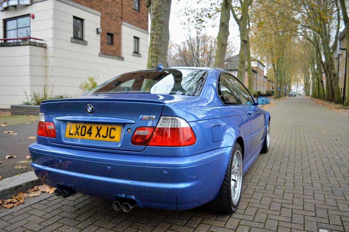 2004 BMW E46 M3 Individual Estoril Blue Manual For Sale ...