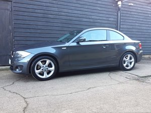 BMW 1 SERIES 2.0 120i SE COUPE AUTO Big Spec: FSH,Lthr,Nav