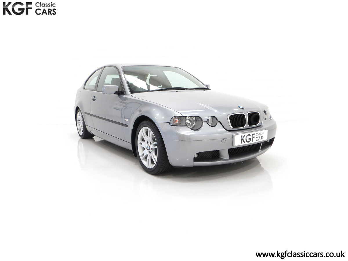 2004 A Superb BMW E46 316Ti Sport Compact with Only 18,507 Miles For Sale (picture 1 of 24)