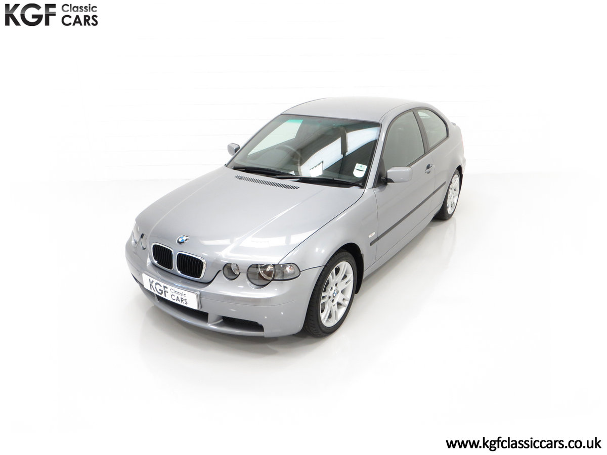 2004 A Superb BMW E46 316Ti Sport Compact with Only 18,507 Miles For Sale (picture 5 of 24)