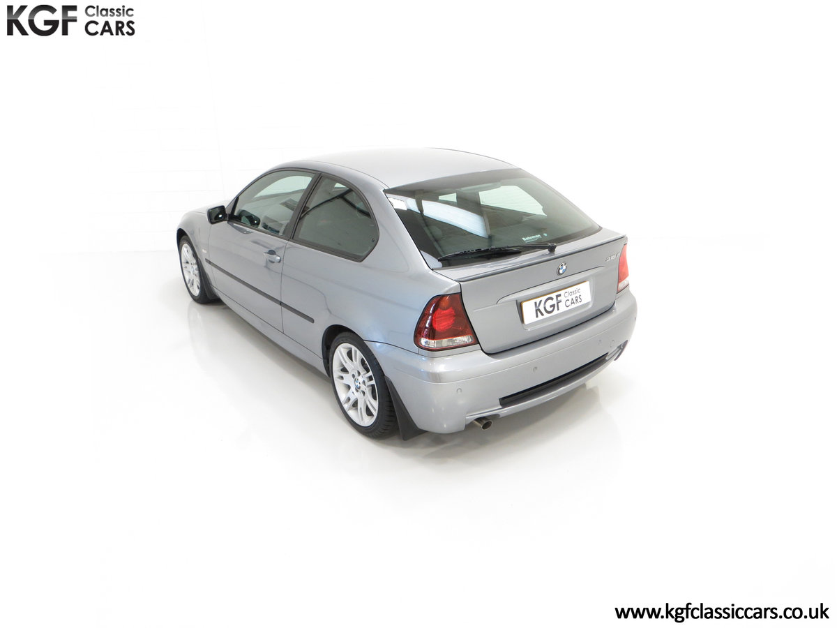 2004 A Superb BMW E46 316Ti Sport Compact with Only 18,507 Miles For Sale (picture 9 of 24)