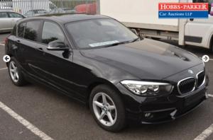 2019 BMW 118D SE Auto 8,266 Miles For auction 25th