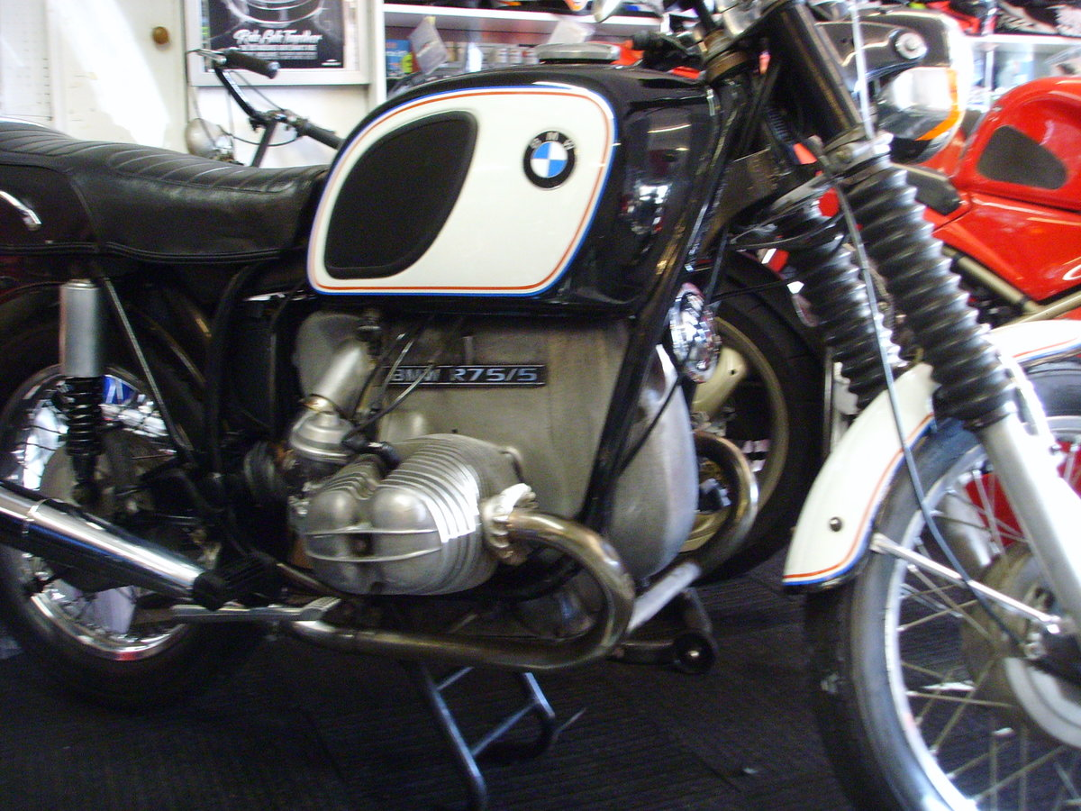 BMW R75/5 1972 Lovely useable classic For Sale (picture 1 of 6)