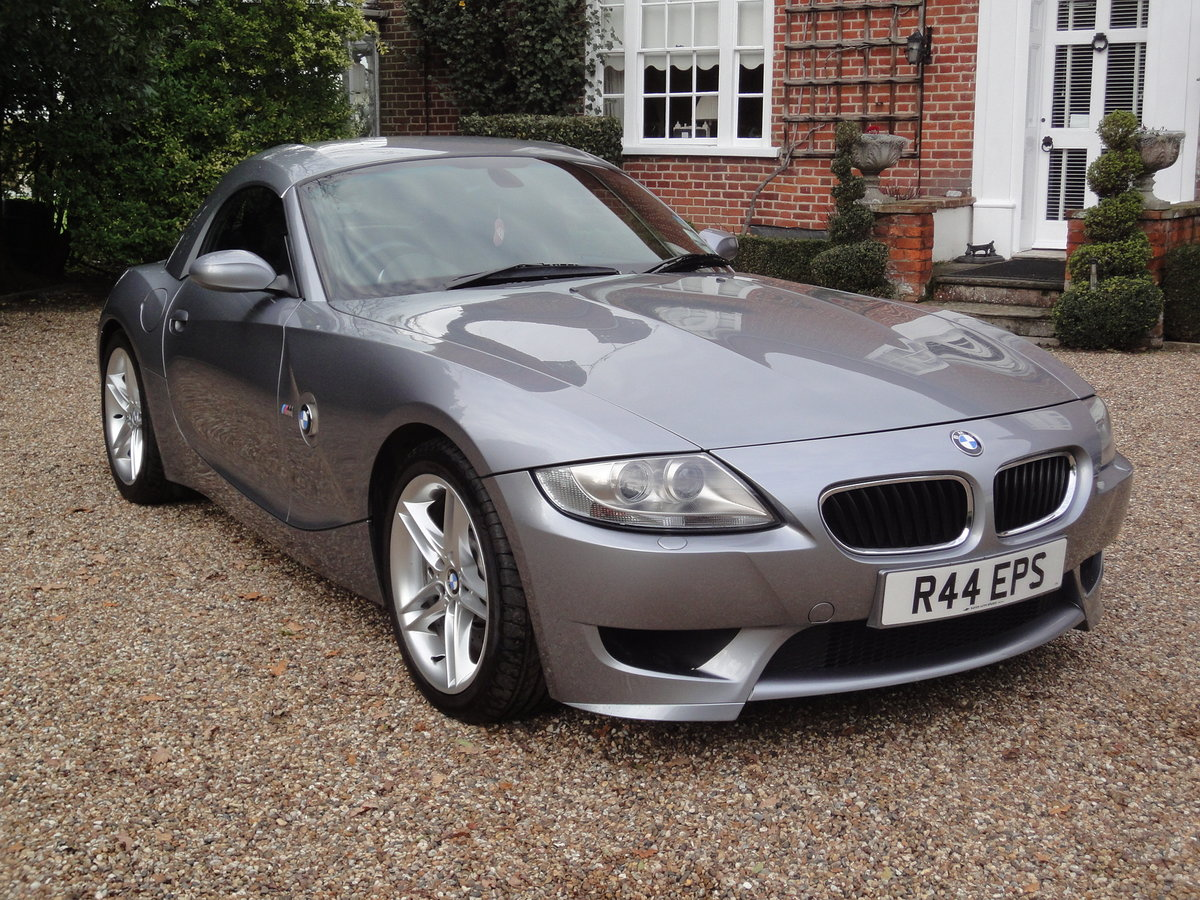 2006 Low Mileage BMW Z4 M Roadster (Manual) For Sale (picture 3 of 6)