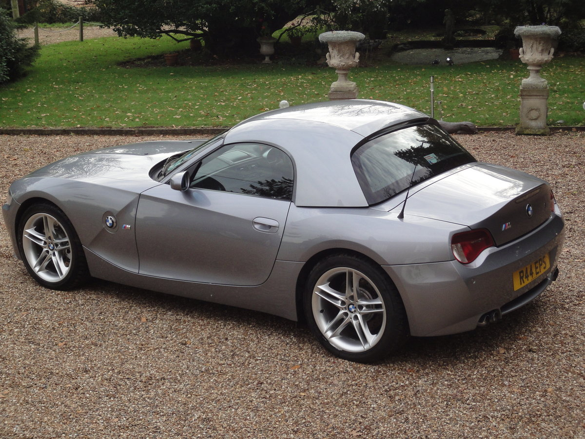 2006 Low Mileage BMW Z4 M Roadster (Manual) For Sale (picture 4 of 6)