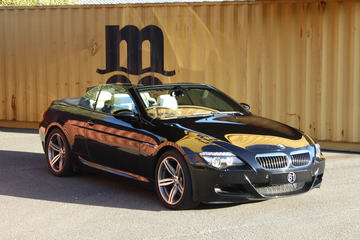 2007 BMW E63 M6 V10 Cabriolet For Sale (picture 1 of 6)