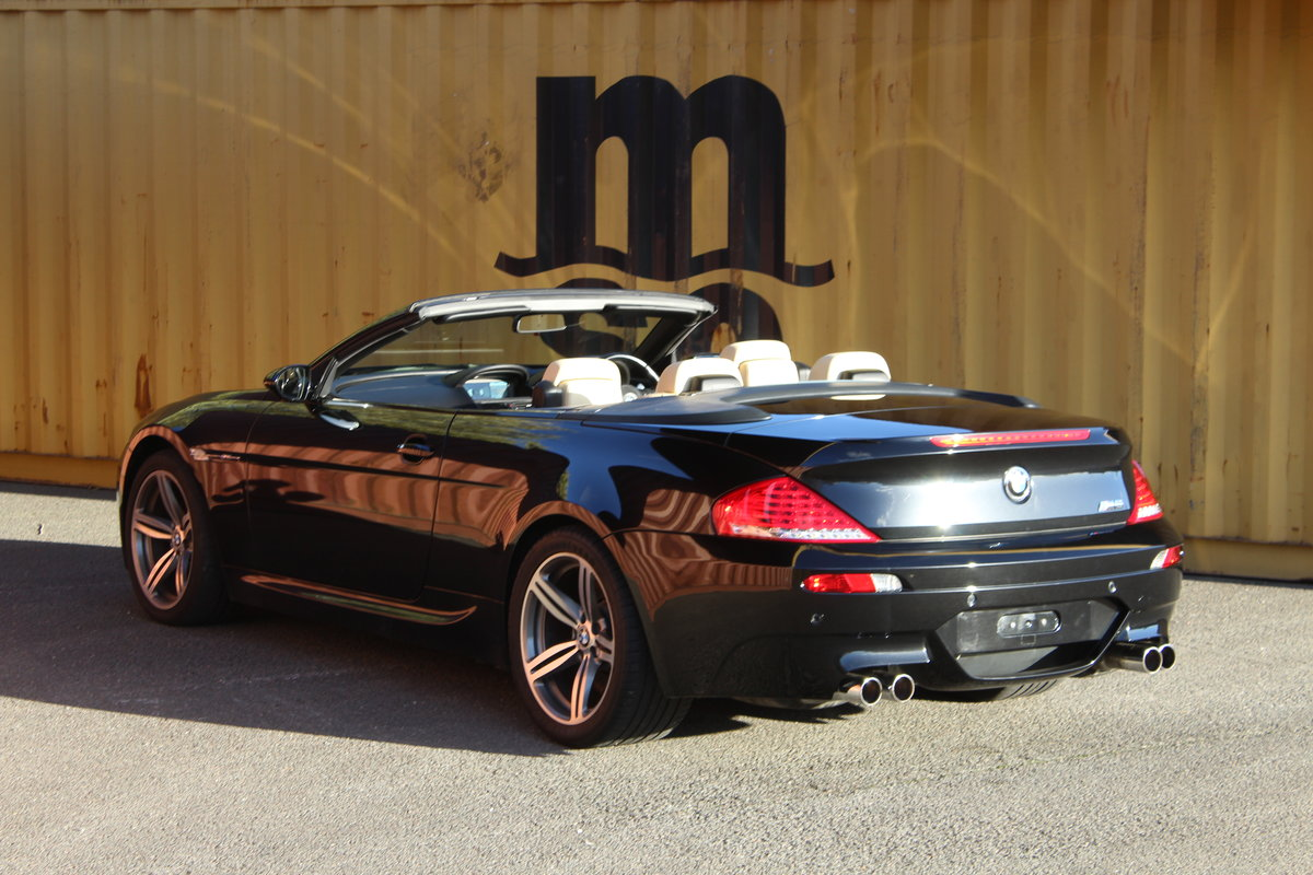 2007 BMW E63 M6 V10 Cabriolet For Sale (picture 4 of 6)