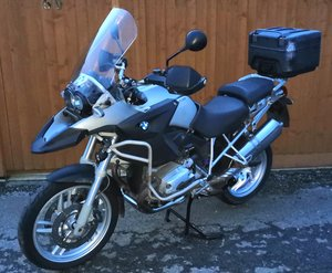 BMW R1200 GS ABS RTW Adventure Bike with Topbox VGC PX Swap