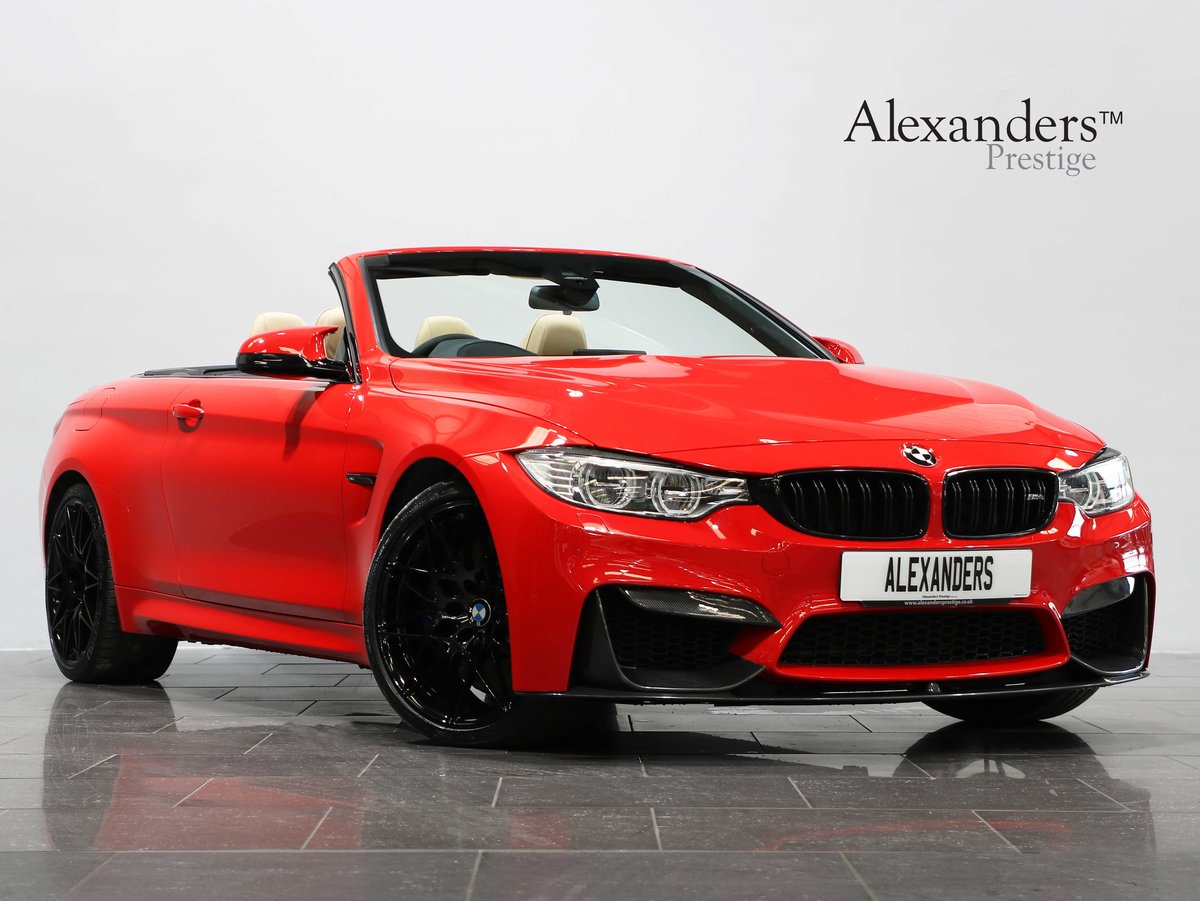 2016 16 66 BMW M4 COMPETITION CABRIOLET 3.0 DCT For Sale (picture 1 of 6)