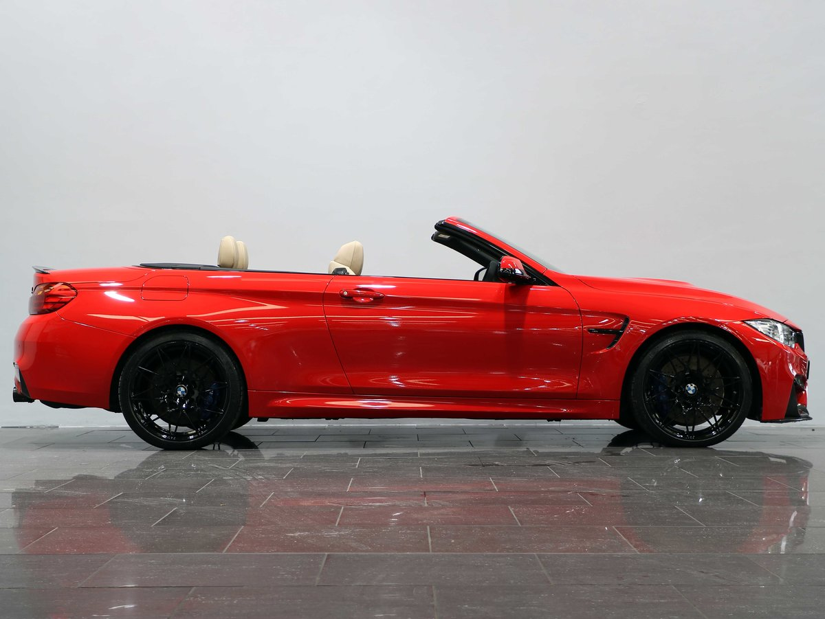2016 16 66 BMW M4 COMPETITION CABRIOLET 3.0 DCT For Sale (picture 2 of 6)