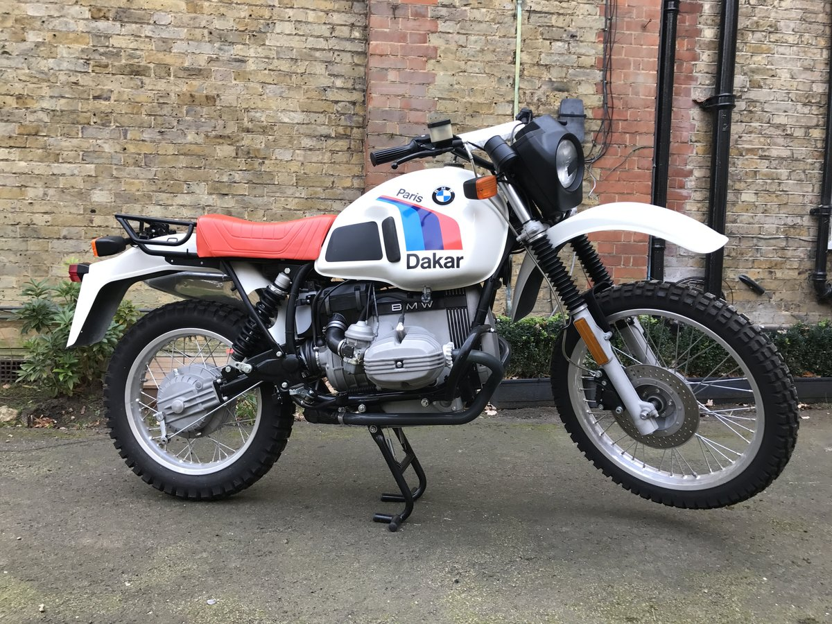 1984 BMW R80GS PD For Sale (picture 1 of 6)