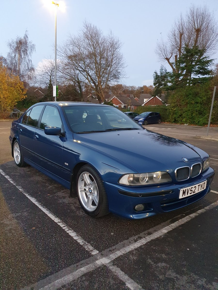 2002 BMW 520i M-SPORT E39 5 SERIES AUTOMATIC For Sale (picture 1 of 6)
