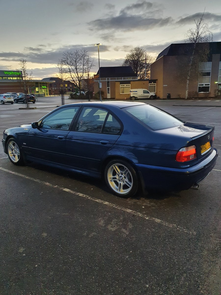 2002 BMW 520i M-SPORT E39 5 SERIES AUTOMATIC For Sale (picture 2 of 6)