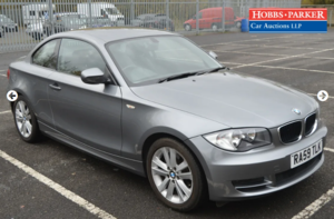 Picture of 2009 BMW 120i SE 47,301 miles for auction 25th SOLD by Auction