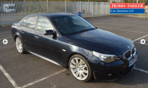 2007 BMW 530D M-Sport 60,884 Miles for auction 25th