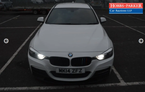 Picture of 2014 BMW 320d M Sport Touring 90,688 Miles for auction 25th
