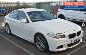 Picture of 2012 BMW 520D M Sport Auto 56,155 Miles for auction 25th SOLD by Auction