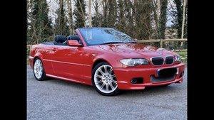 BMW e46 2.2 M sport, Rare Imola Red