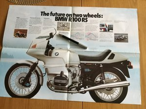 Picture of 1977 BMW range poster/brochure