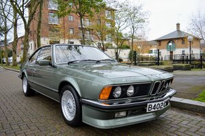 BMW E24 M635 CSI Manual - Extremely Low Miles