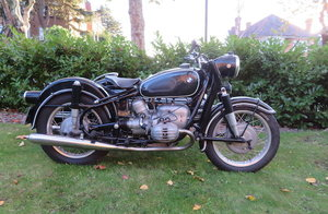 Picture of 1961 BMW 594cc R602 & Steib S501 Motorcycle Combination For Sale by Auction