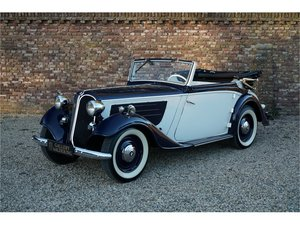 Picture of 1936 BMW 319 Convertible, restored and revised example For Sale