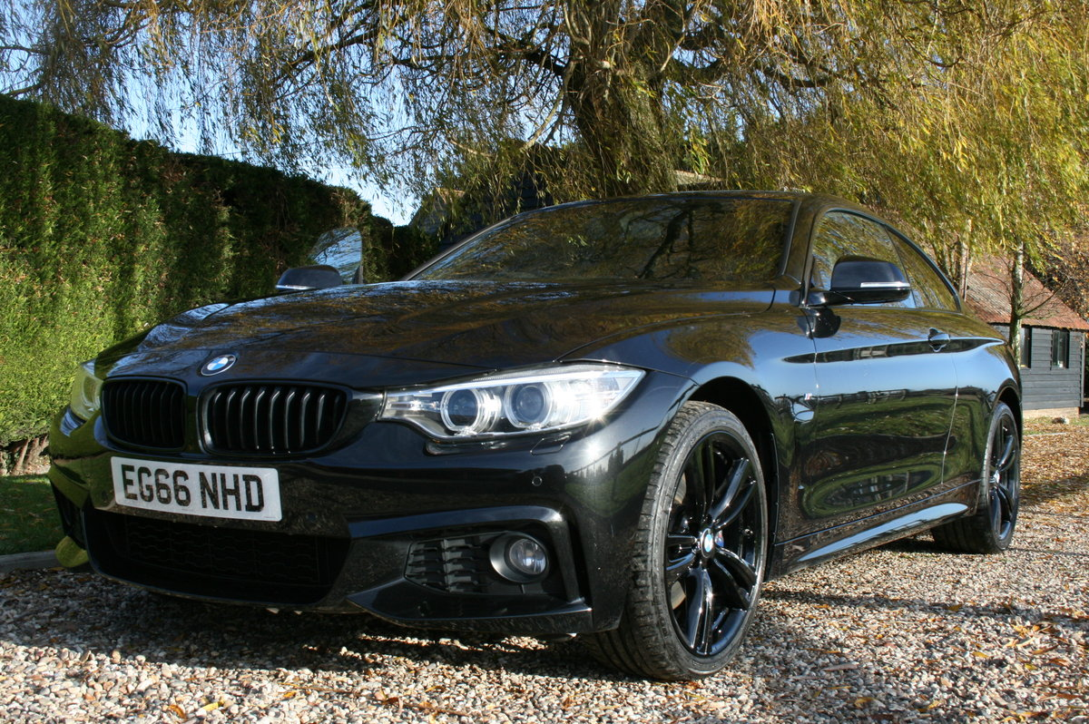 BMW 420i 2.0 Coupe 184bhp 4X4 Auto 2017 xDrive M Sport For Sale (picture 1 of 6)