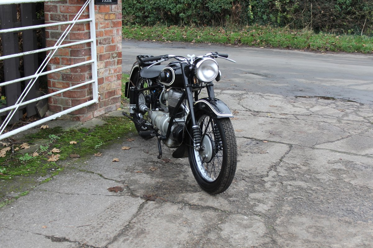 1953 BMW R25, Lovely Example For Sale (picture 1 of 9)