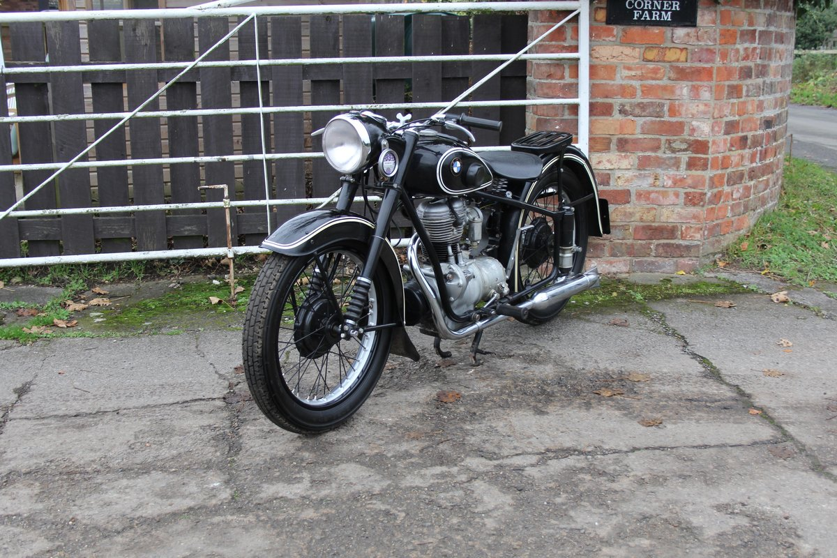 1953 BMW R25, Lovely Example For Sale (picture 3 of 9)