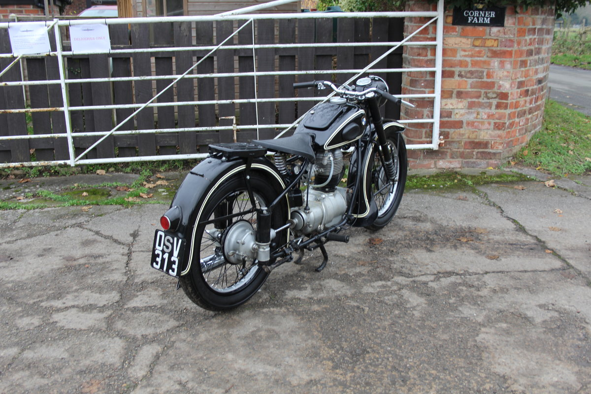 1953 BMW R25, Lovely Example For Sale (picture 6 of 9)