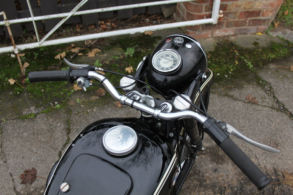 1953 BMW R25, Lovely Example For Sale (picture 7 of 9)