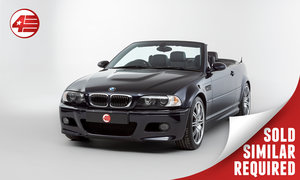 Picture of 2004 BMW E46 M3 Convertible /// Just 52k Miles SOLD