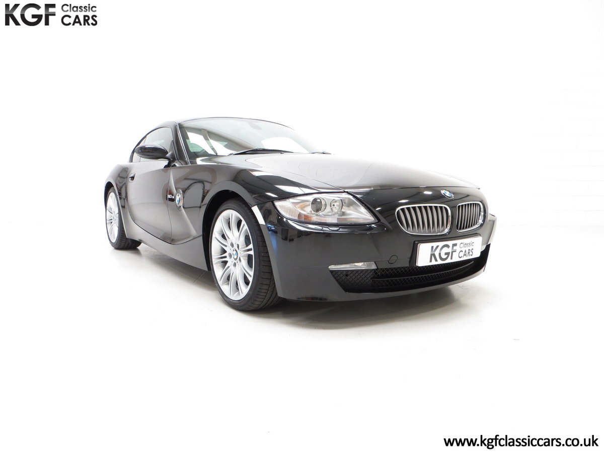 2007 An Outstanding BMW E86 Z4 3.0Si Sport Coupe with 23759 Miles For Sale (picture 1 of 30)