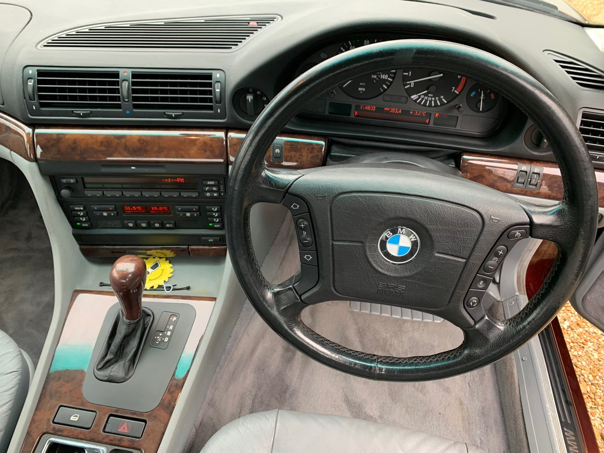 1997 BMW e38 740 For Sale (picture 9 of 12)