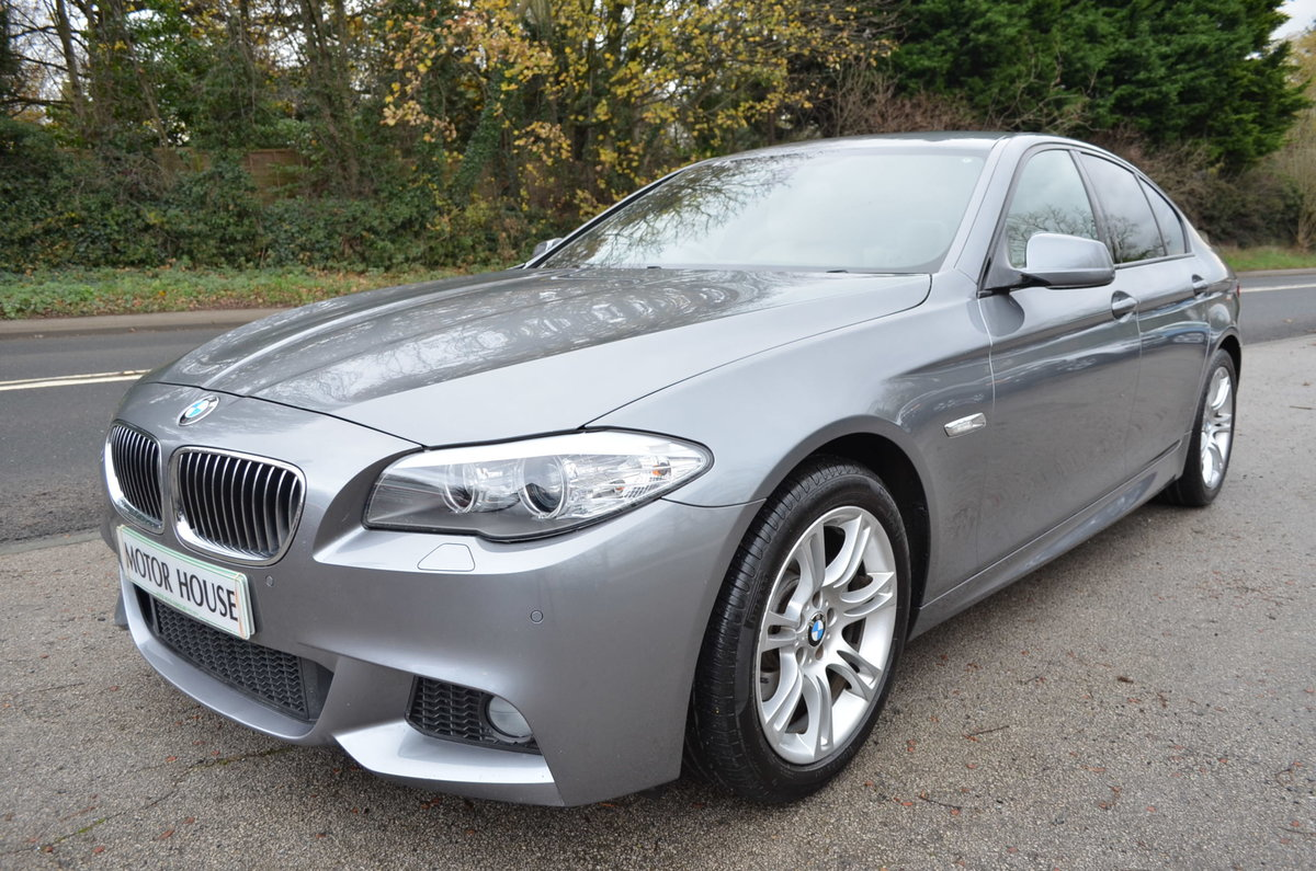 2012 BMW 520 D M SPORT AUTOMATIC LOW MILES For Sale (picture 1 of 12)