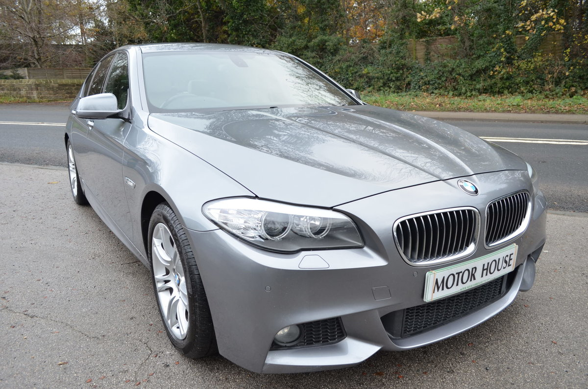 2012 BMW 520 D M SPORT AUTOMATIC LOW MILES For Sale (picture 2 of 12)
