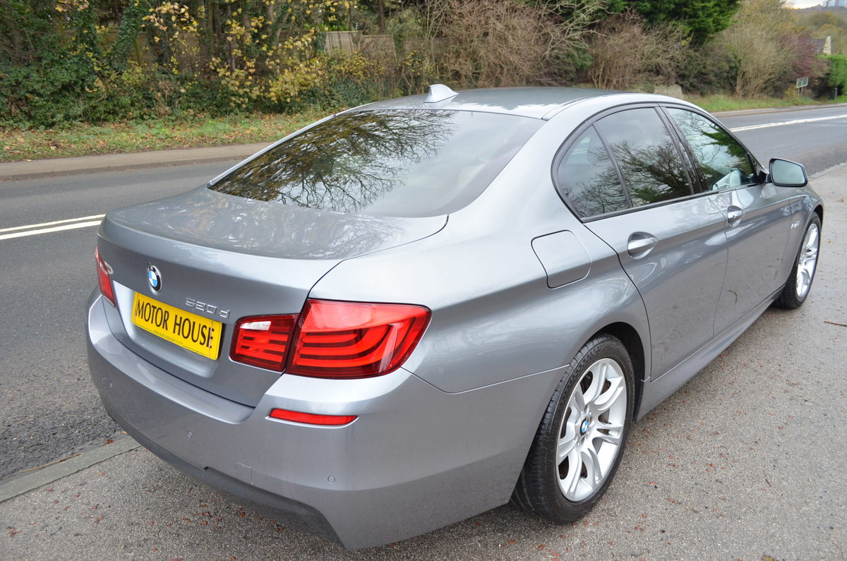 2012 BMW 520 D M SPORT AUTOMATIC LOW MILES For Sale (picture 4 of 12)