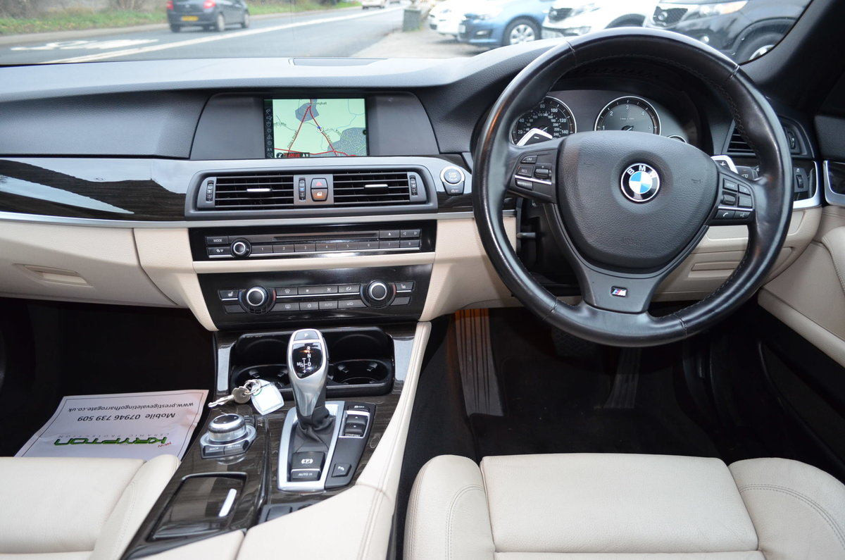 2012 BMW 520 D M SPORT AUTOMATIC LOW MILES For Sale (picture 9 of 12)