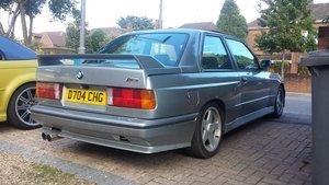 BMW M3 Evolution Coupe RHD Conversion *Deposit Taken*
