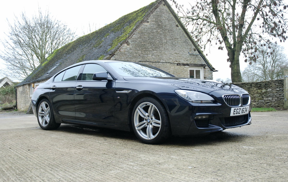 2014 BMW 640D GRAND COUPE For Sale (picture 1 of 12)
