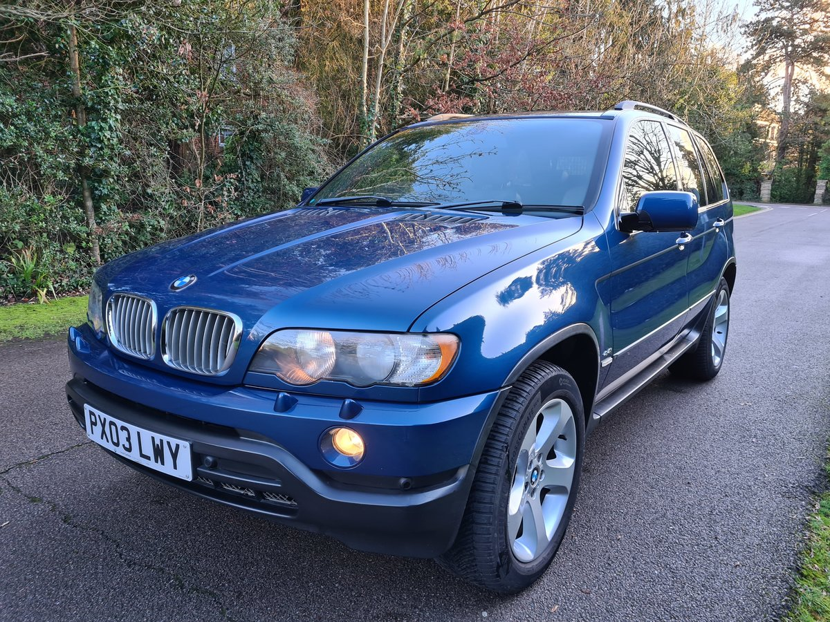 2003 The Finest Early X5 4.4i Sport Your Ever Find. Just 63 900 M SOLD (picture 2 of 12)