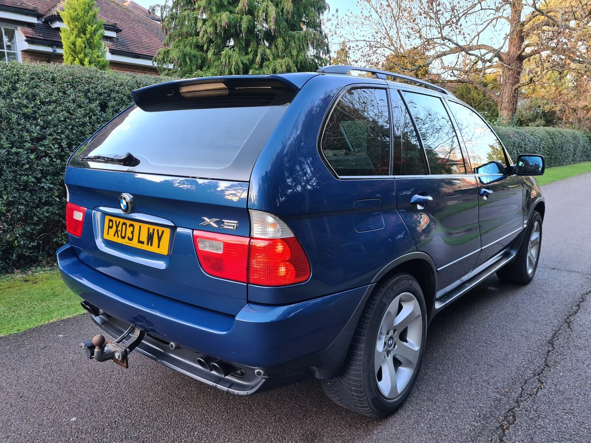 2003 The Finest Early X5 4.4i Sport Your Ever Find. Just 63 900 M SOLD (picture 4 of 12)