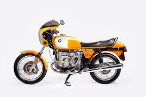 BMW R90/S The orginal superbike and its Orange