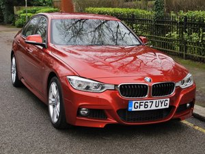 Picture of 2018 BMW 340i SALOON MANUAL GEARBOX SUNSET ORANGE/ OYSTER LEATHER For Sale