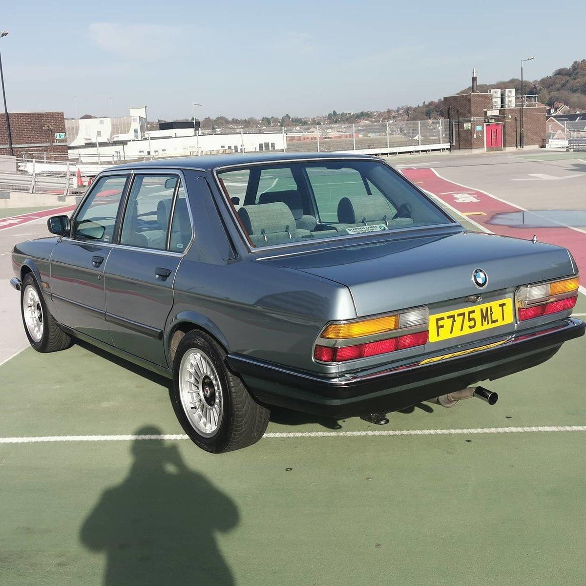 1988 Bmw e28. 525e auto SOLD (picture 1 of 11)