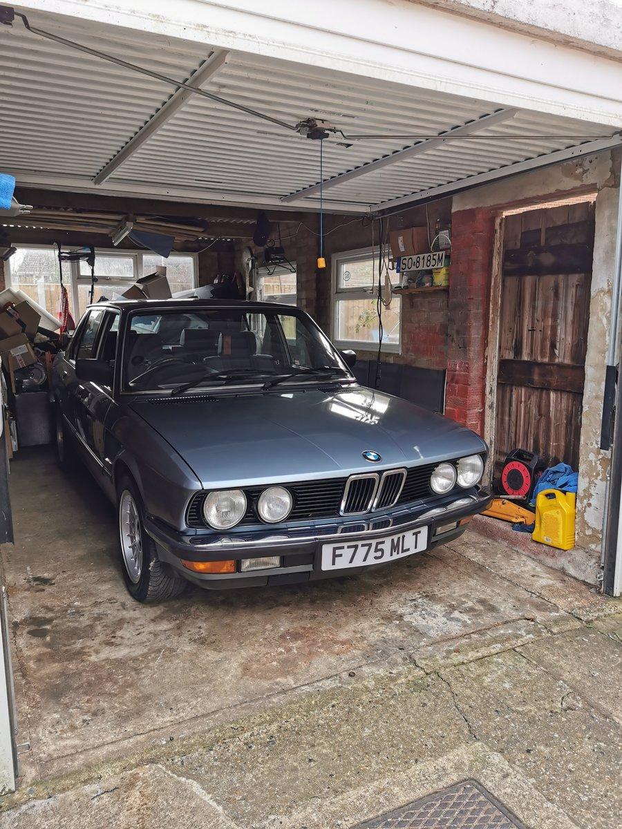 1988 Bmw e28. 525e auto SOLD (picture 6 of 11)